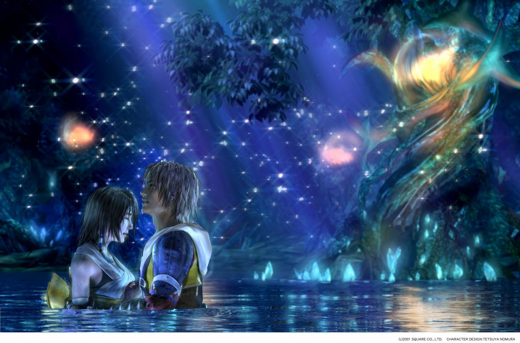 Final fantasy video games yuna tidus final fantasy x wallpaper
