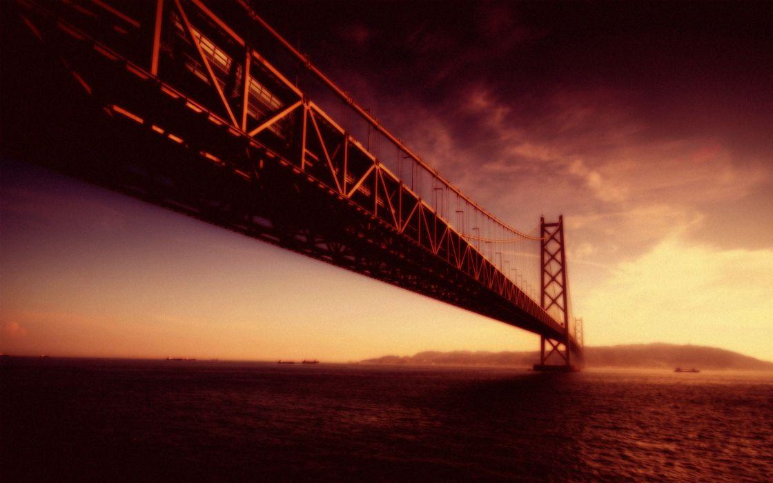 Architecture bridges wallpaper