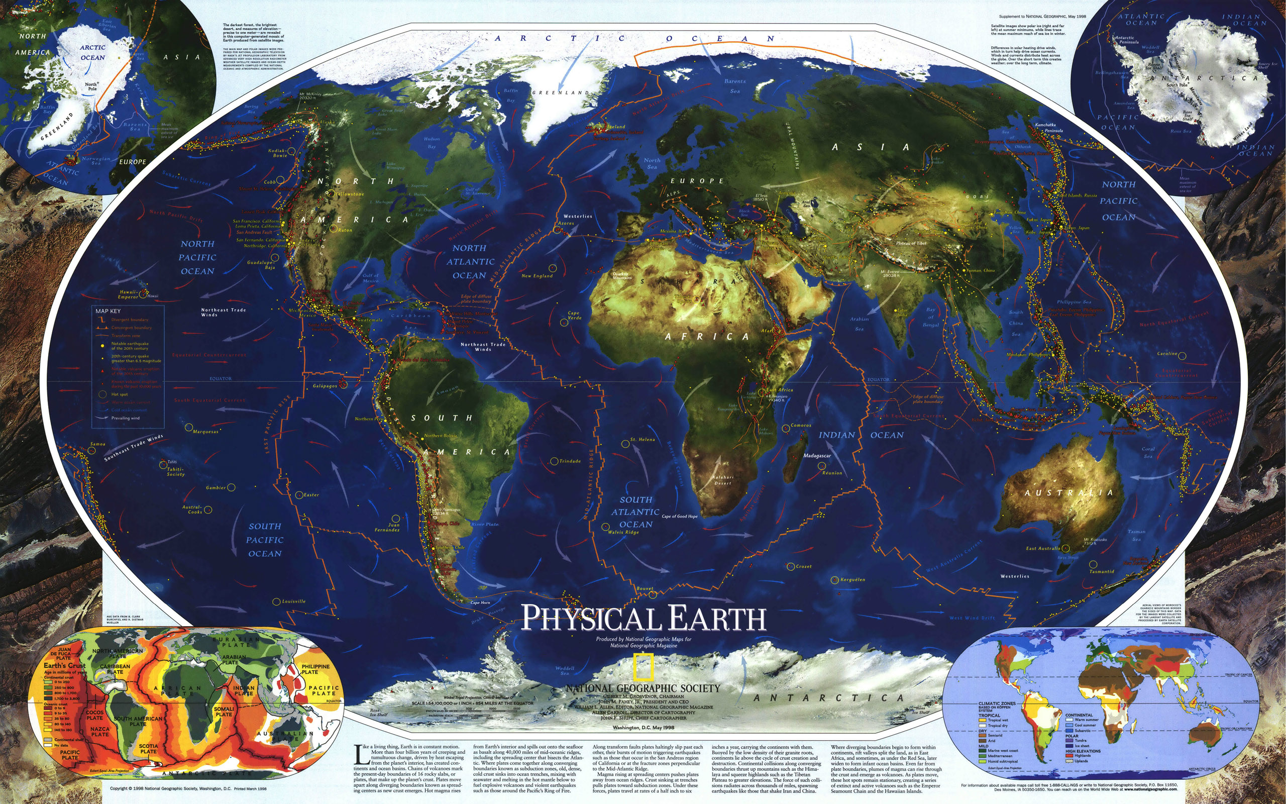 National geographic world map wallpaper 2560x1600 – National Geographic Travel Map