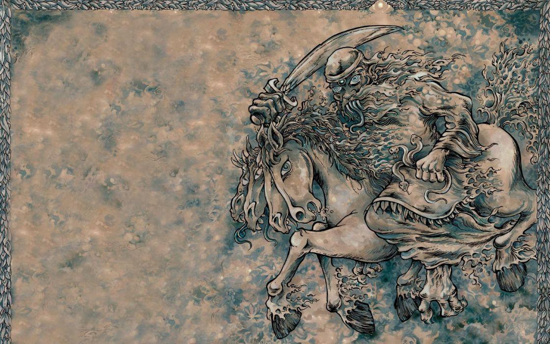 Dead horses wallpaper