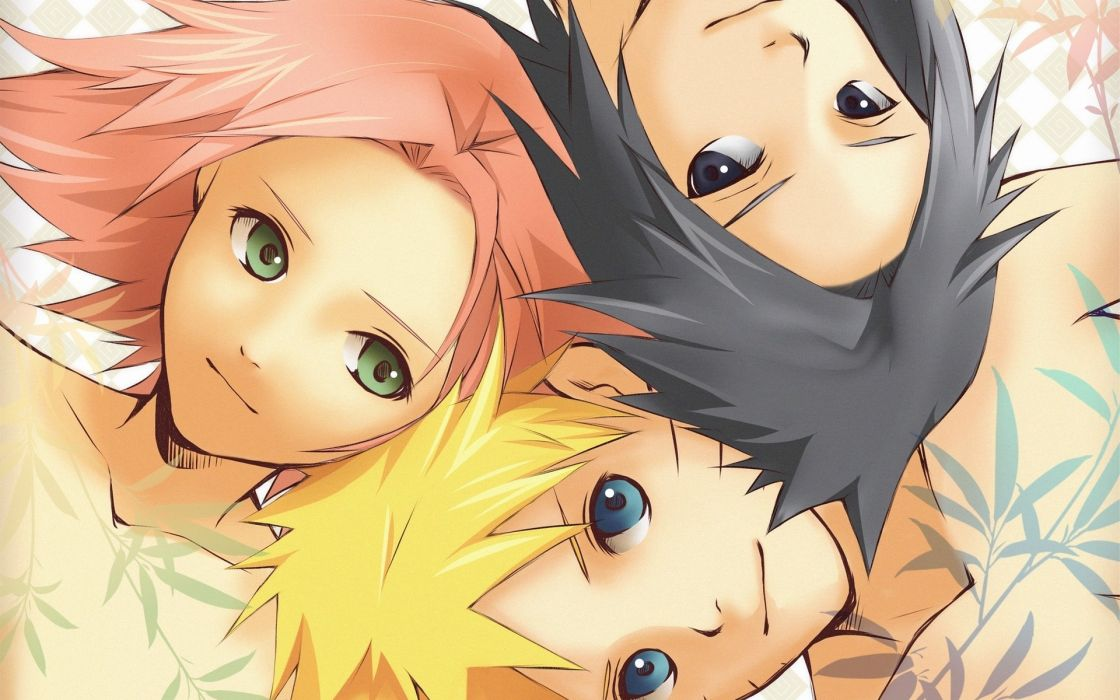 Blondes blue eyes haruno sakura uchiha sasuke naruto shippuden sharingan green eyes pink hair black eyes naruto uzumaki black hair team 7 wallpaper