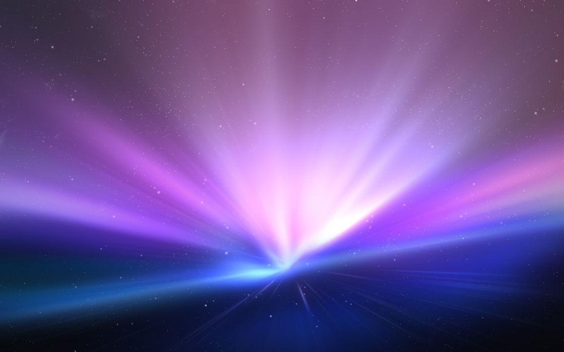Mac aurora wallpaper