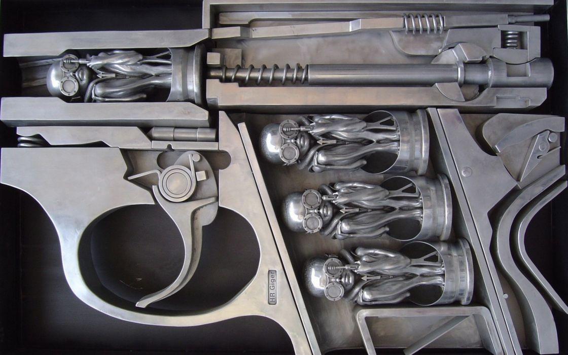 Guns funny weapons wallpaper