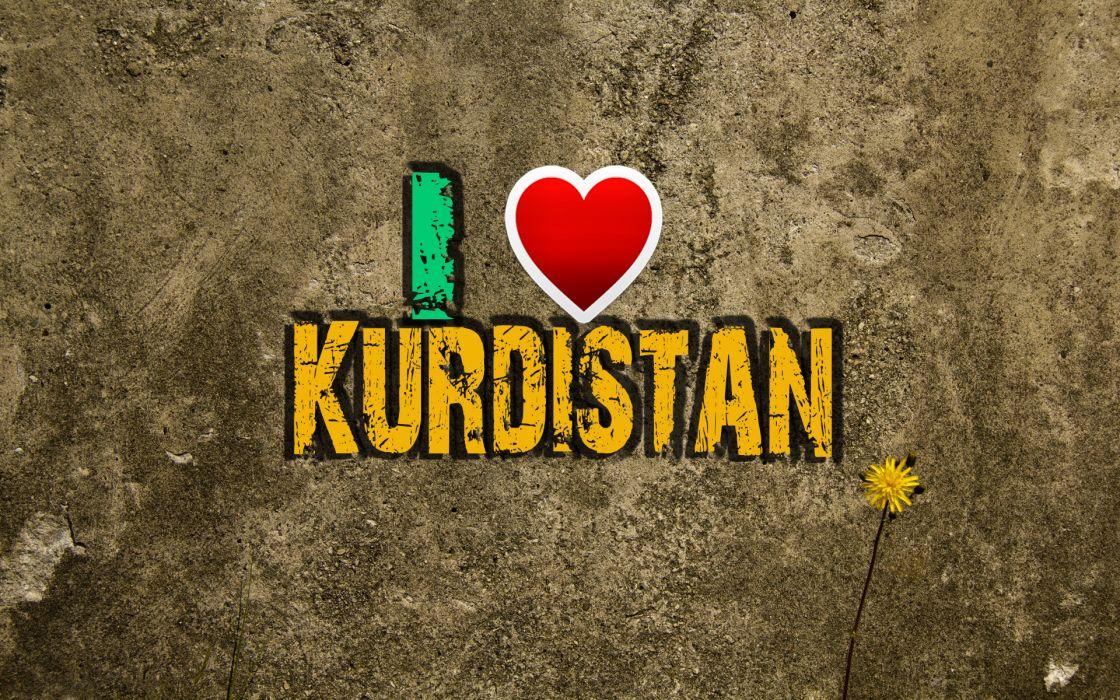 I Love Kurdistan wallpaper