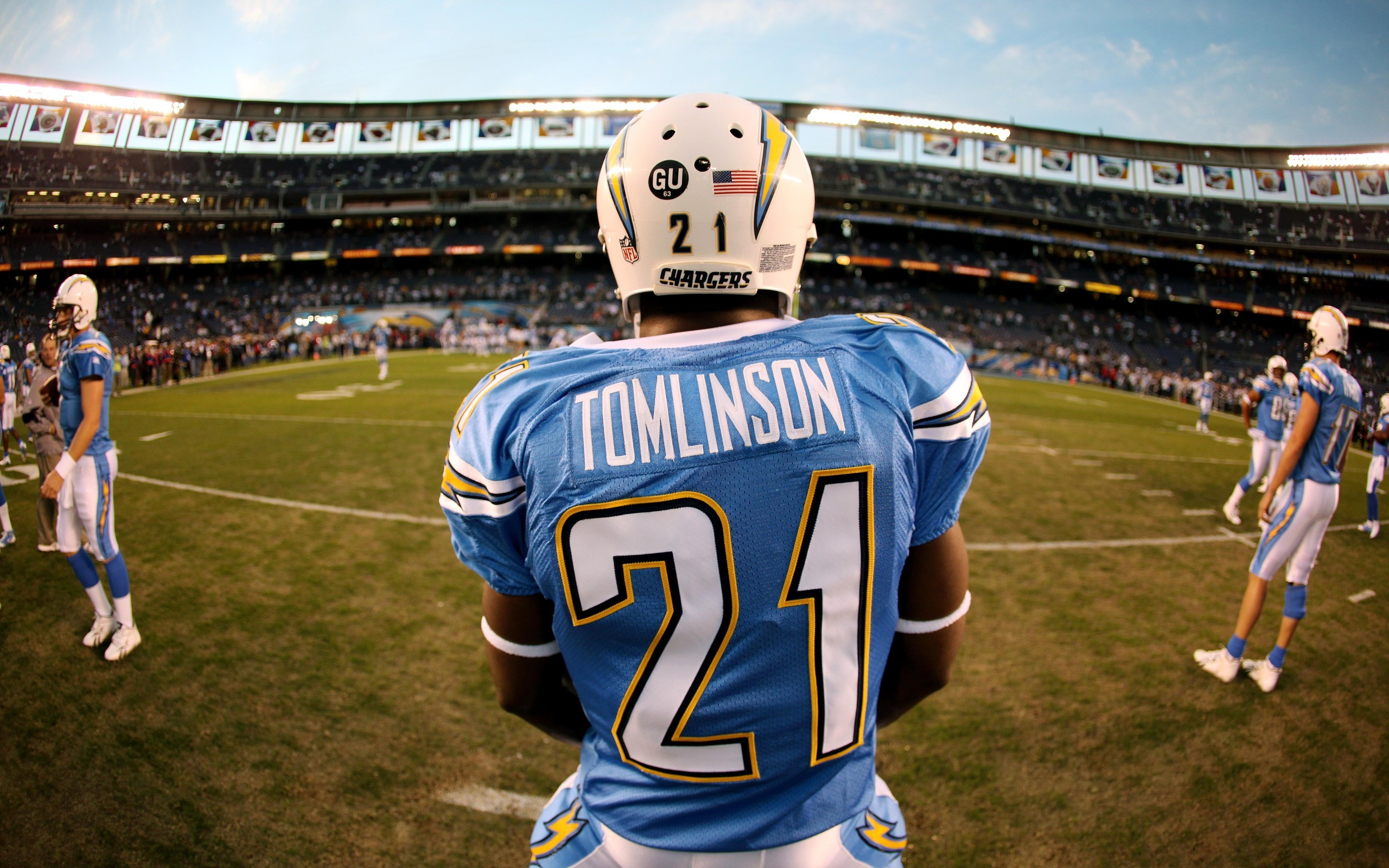 American football nfl stadium san diego chargers wallpaper ... Qualcomm Stadium Chargers Wallpaper