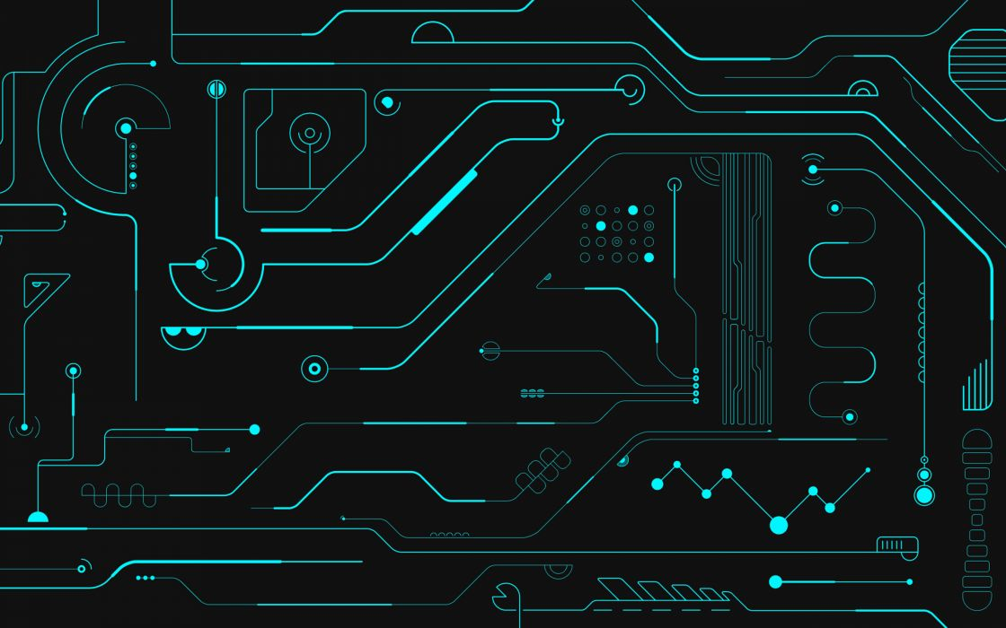Circuits wallpaper