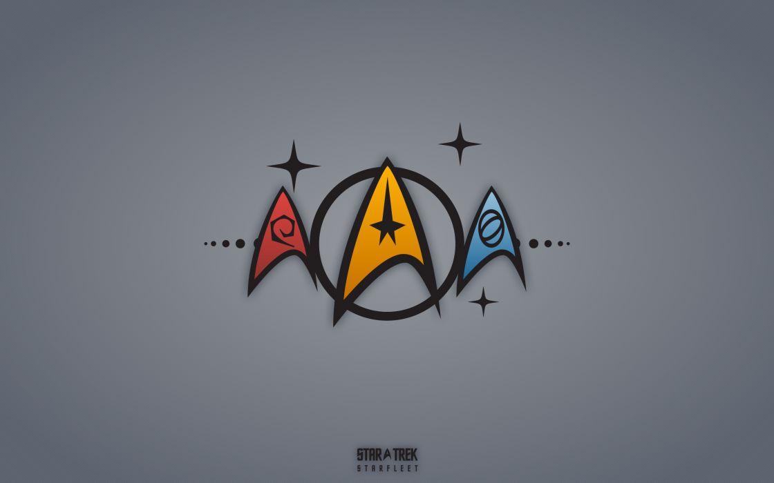 Star trek symbols wallpaper