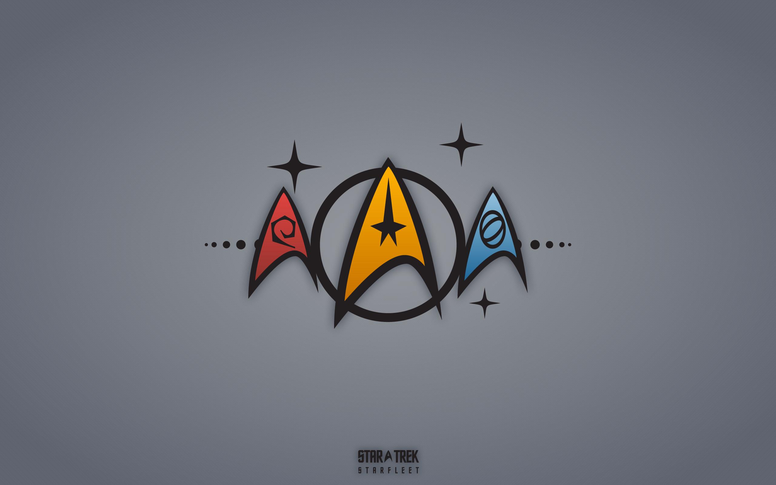 star trek symbols wallpaper 2560x1600 22331 wallpaperup