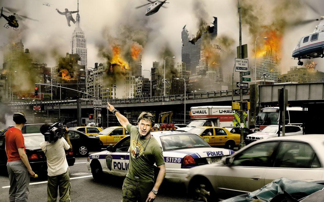 king kong photo-manipulation digital art cg action movies wallpaper