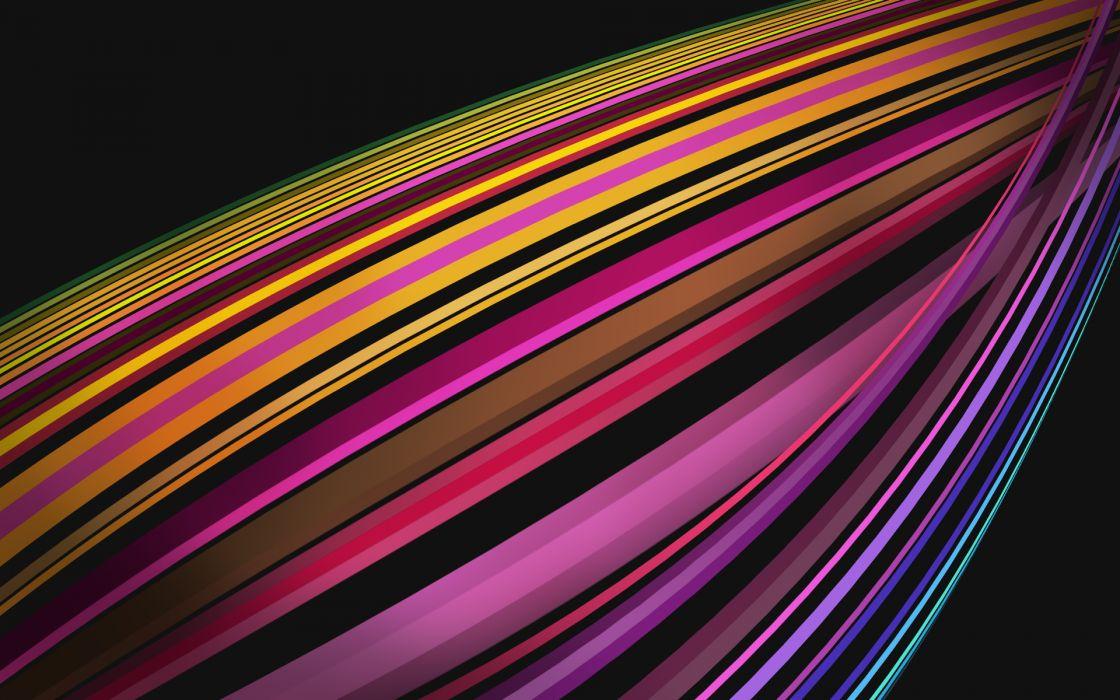 Abstract rainbows vivid colors wallpaper