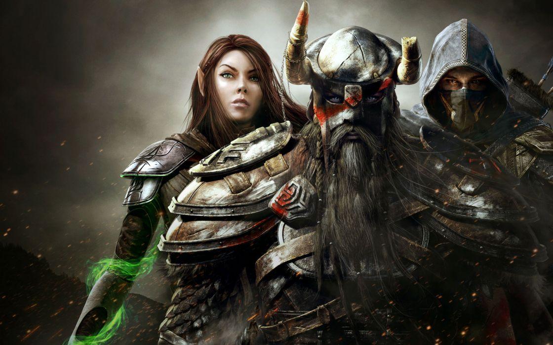 the-Elder-Scrolls-Online Elder-Scrolls skyrim fantasy games entertainment wallpaper