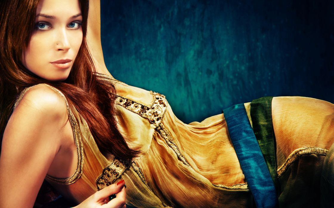 rockey women girls people models fashion style oriental sexy sensual babes wallpaper