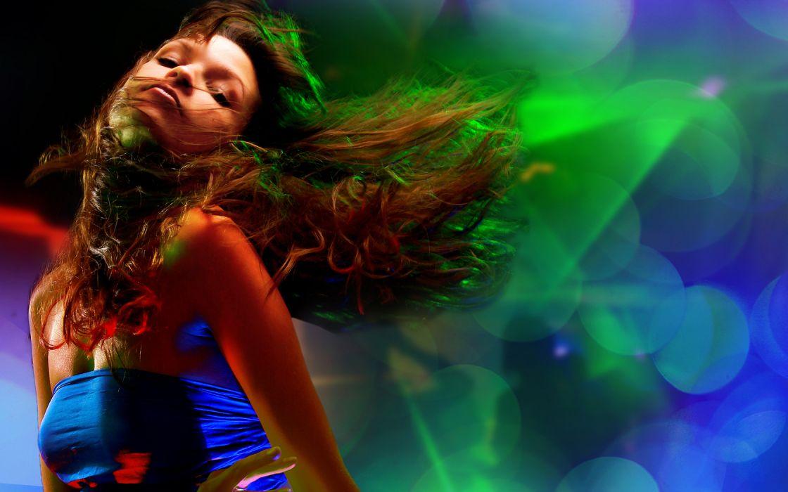 other-females females women girls music dancing sexy sensual babes dj disco wallpaper