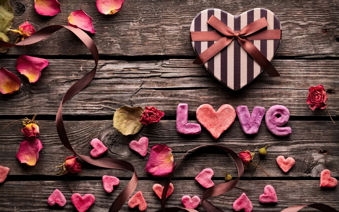 holidays valentine's-day valentines love romance abstract wallpaper