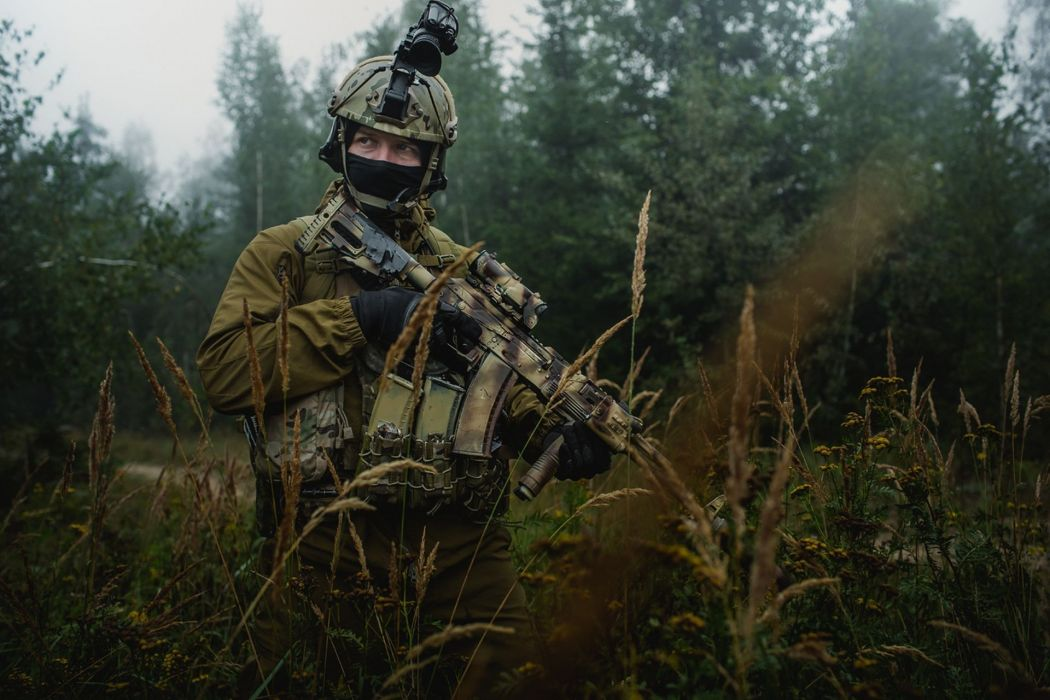 military people soldiers weapons guns forests wallpaper