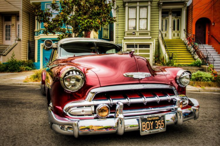 vehicles cars chevy chevrolet 1952 lowriders classic-cars wallpaper