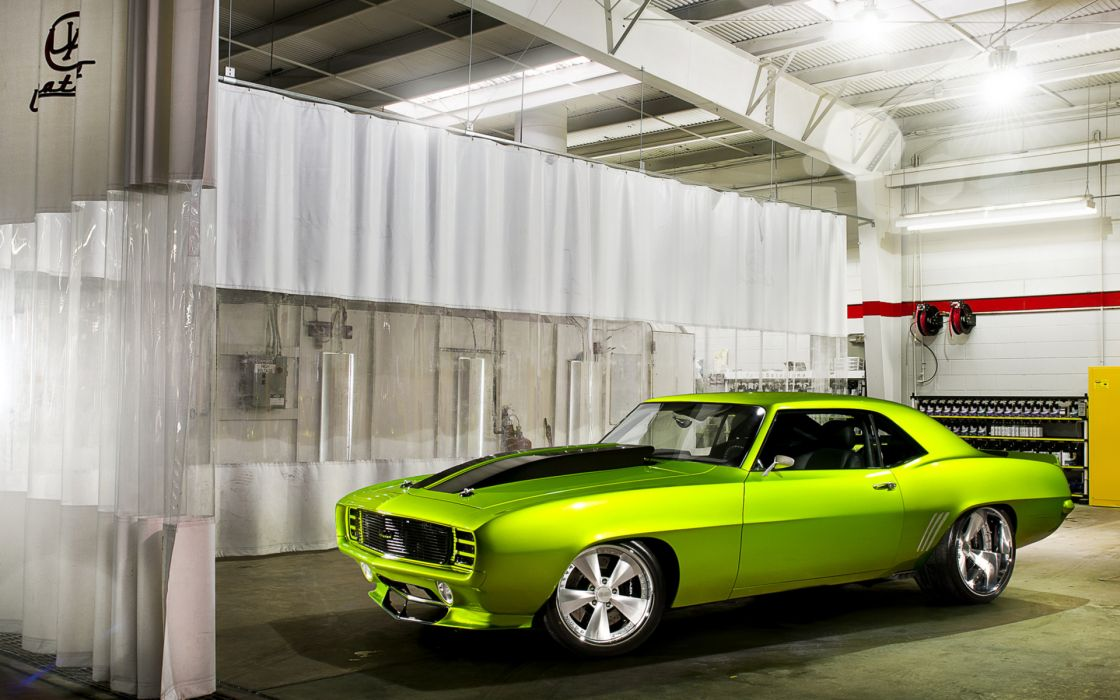 vehicles cars chevy chevrolet camaro hot-rods muscle-cars classic-cars wallpaper