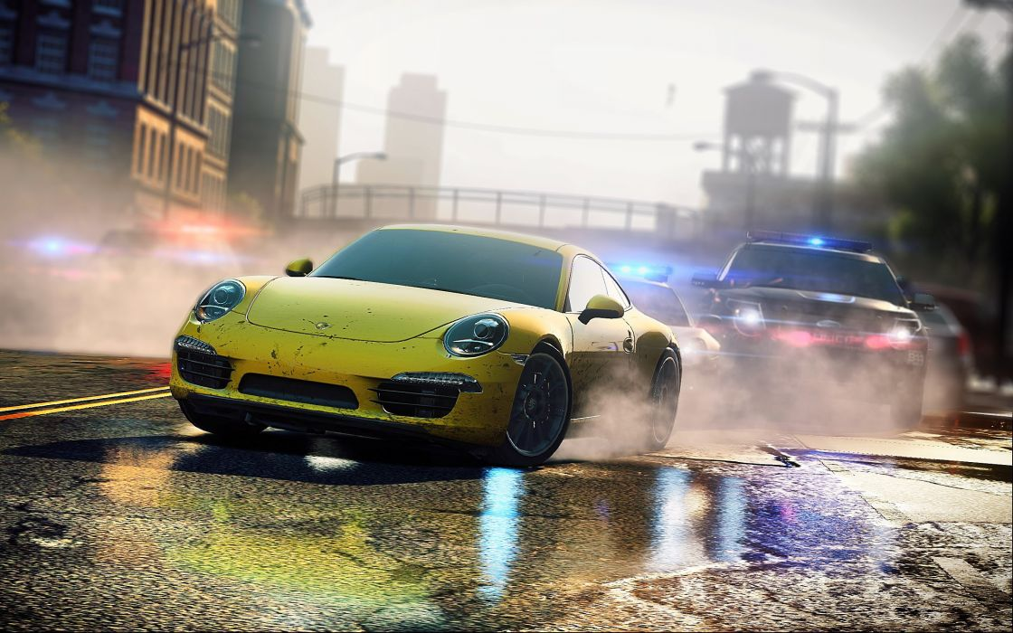 Video games streets porsche need for speed most wanted wallpaper