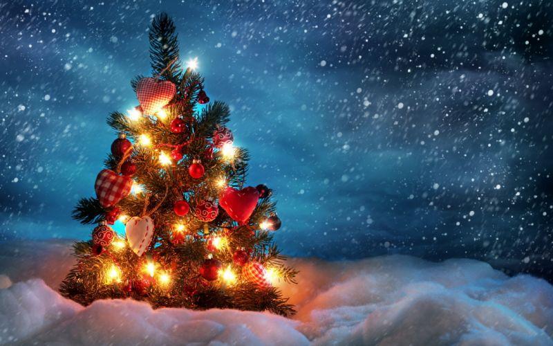 holidays christmas christmas-trees wallpaper