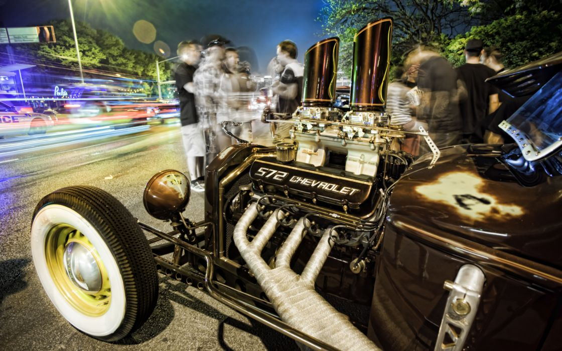 vehicles cars hot-rods rat-rods classic-cars engines wallpaper