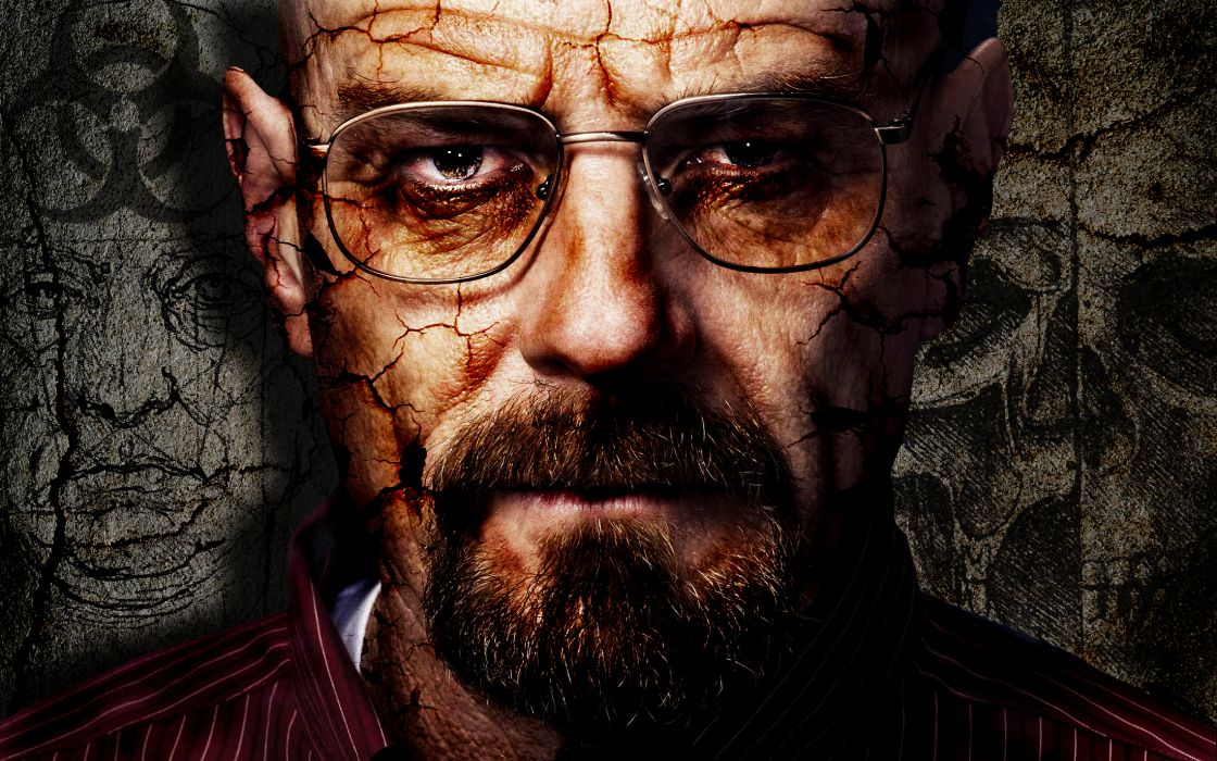 breaking-bad tv-shows tv people dark spooky creepy faces glasses digital-art cg wallpaper