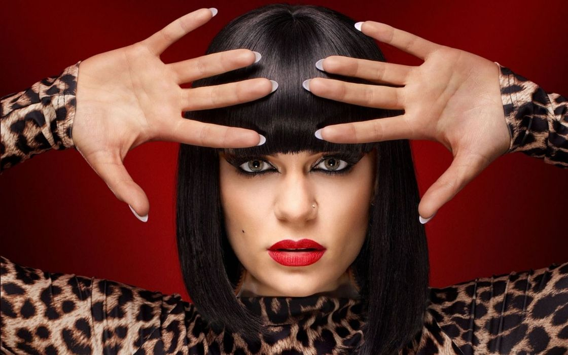 Jessie-J The-Voice-UK The-Voice celebrities tv-shows tv-show tv televsion people entertainment singers musicians women females girls sexy babes sensual wallpaper