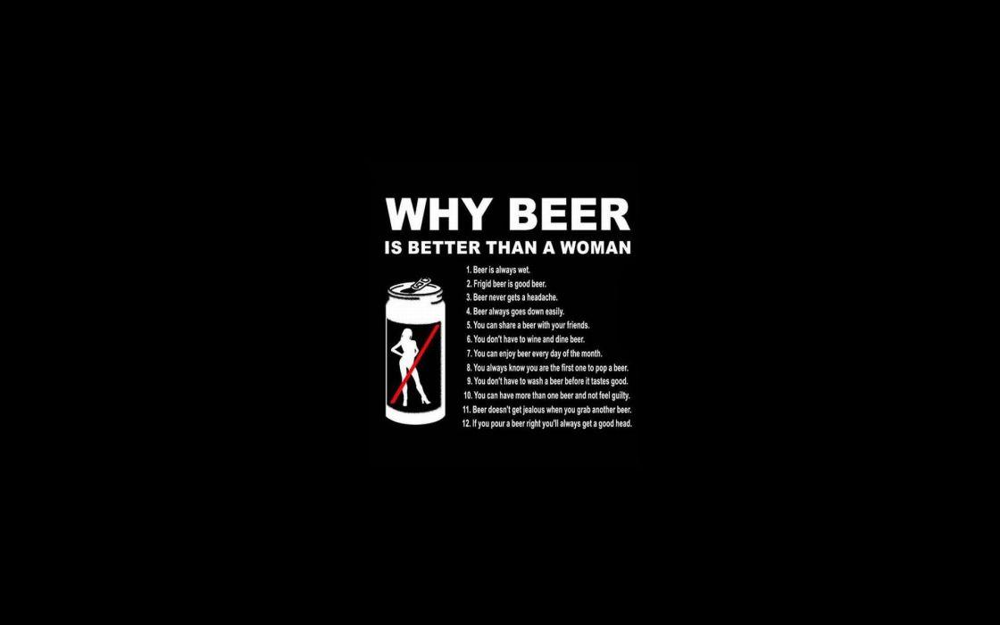 Quotes Humor Funny Beer Dark Black Wallpaper 1920x1200