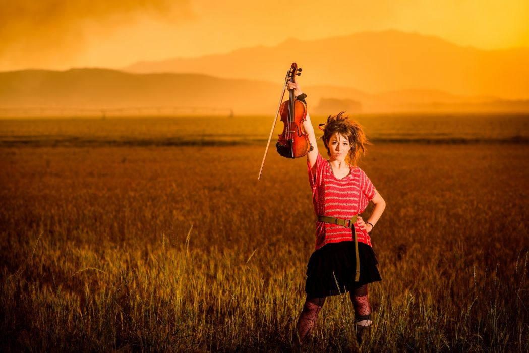 lindsey-stirling music musicians violins women females girls wallpaper