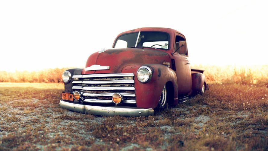 Stance-Works 1949 CHEVY chevrolet trucks lowriders custom classic-cars wallpaper