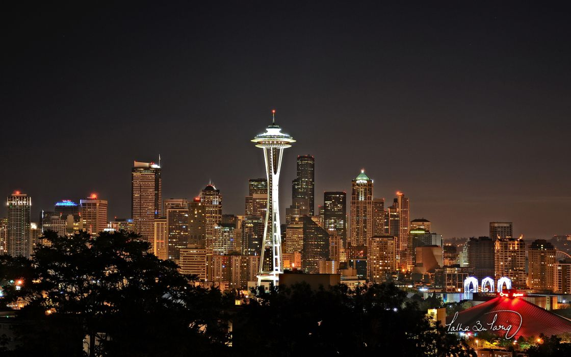 seattle cities places world places architecture buildings skyscrapers wallpaper