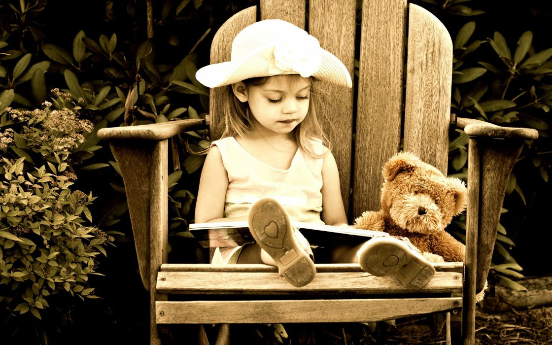 cute photography children people teddy-bears wallpaper