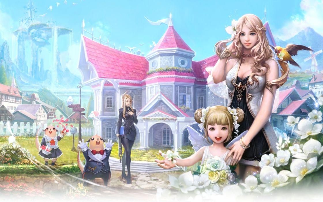 Aion fantasy games video-games wallpaper