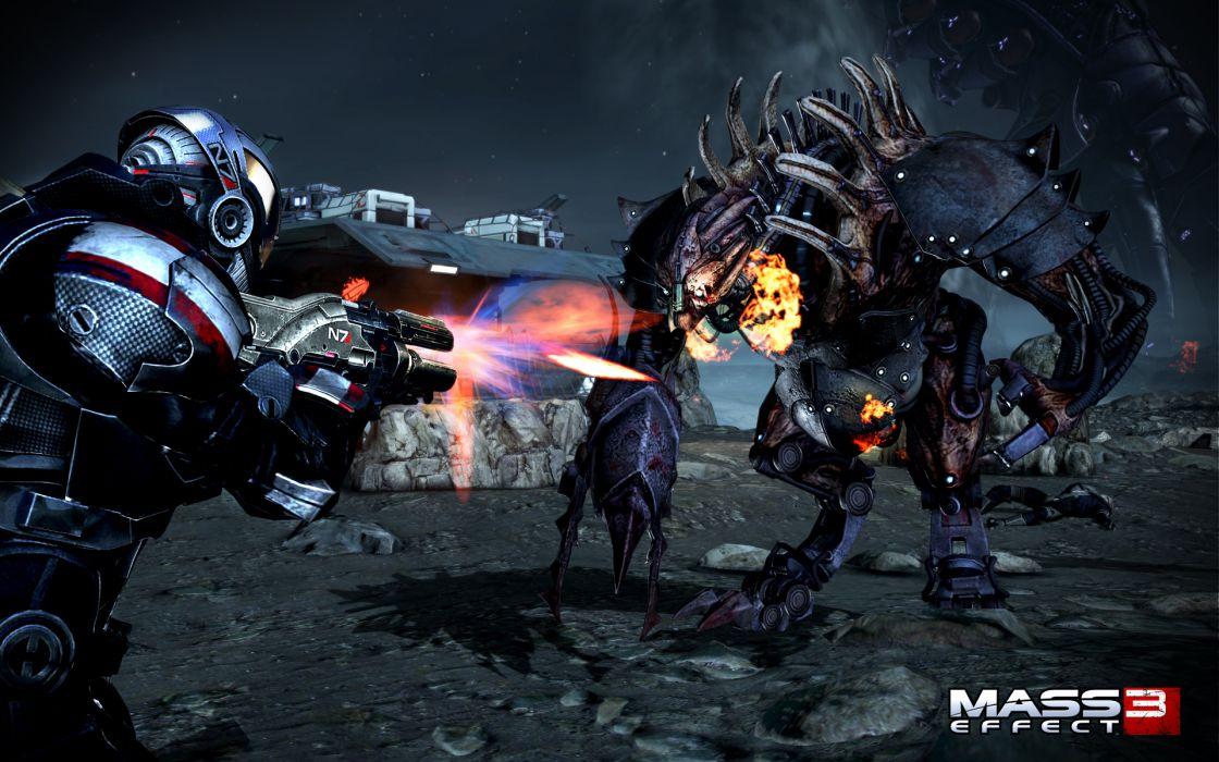 mass-effect mass effect battles wars games video-games warriors soldiers sci-fi mecha mechs weapons guns wallpaper