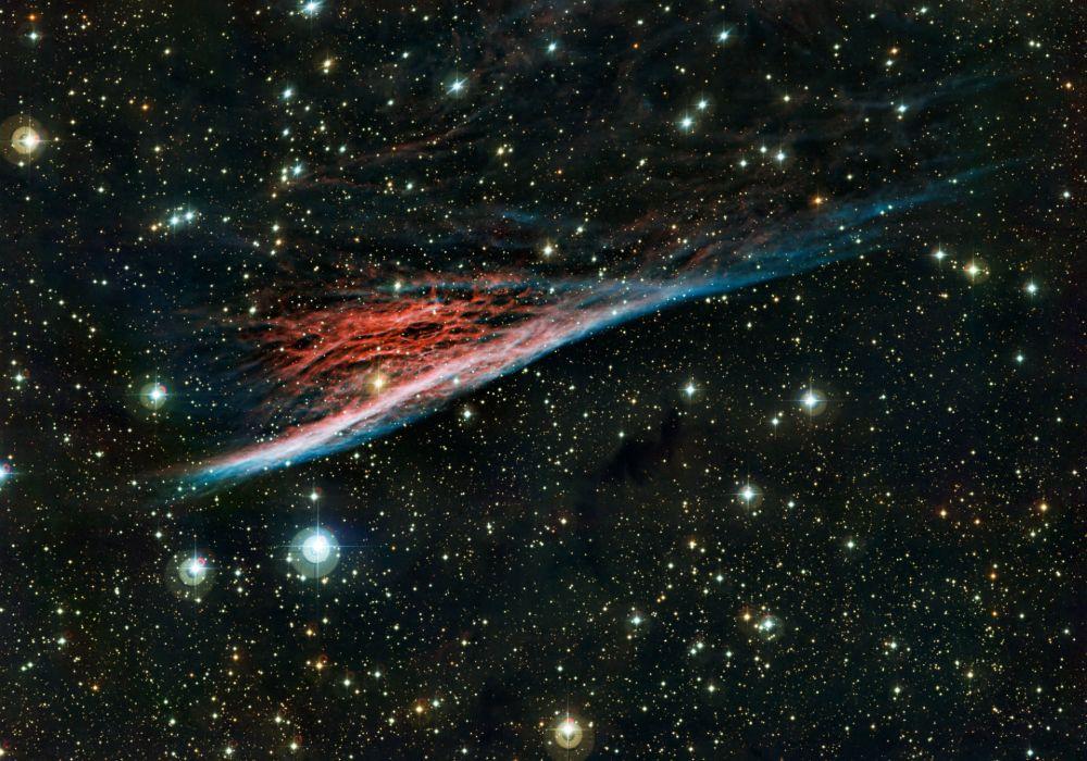 space universe nebulae stars sci-fi wallpaper