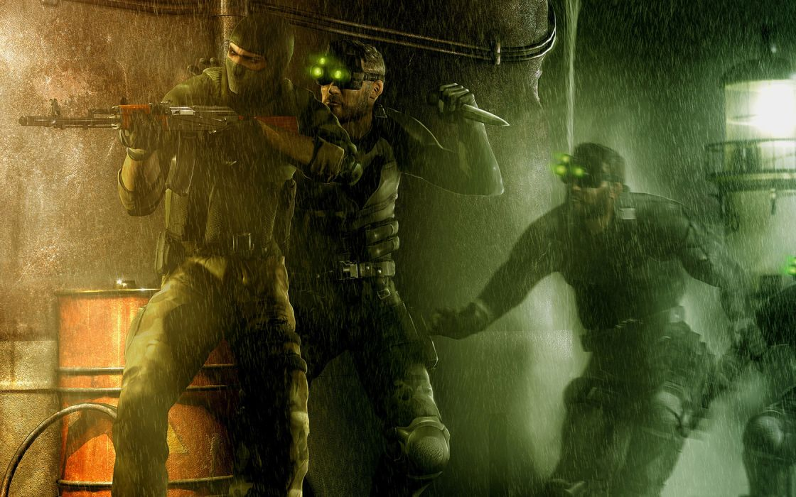 Tom-Clancy Splinter-Cell Splinter Cell military warriors soldiers weaponsgames video-games wallpaper