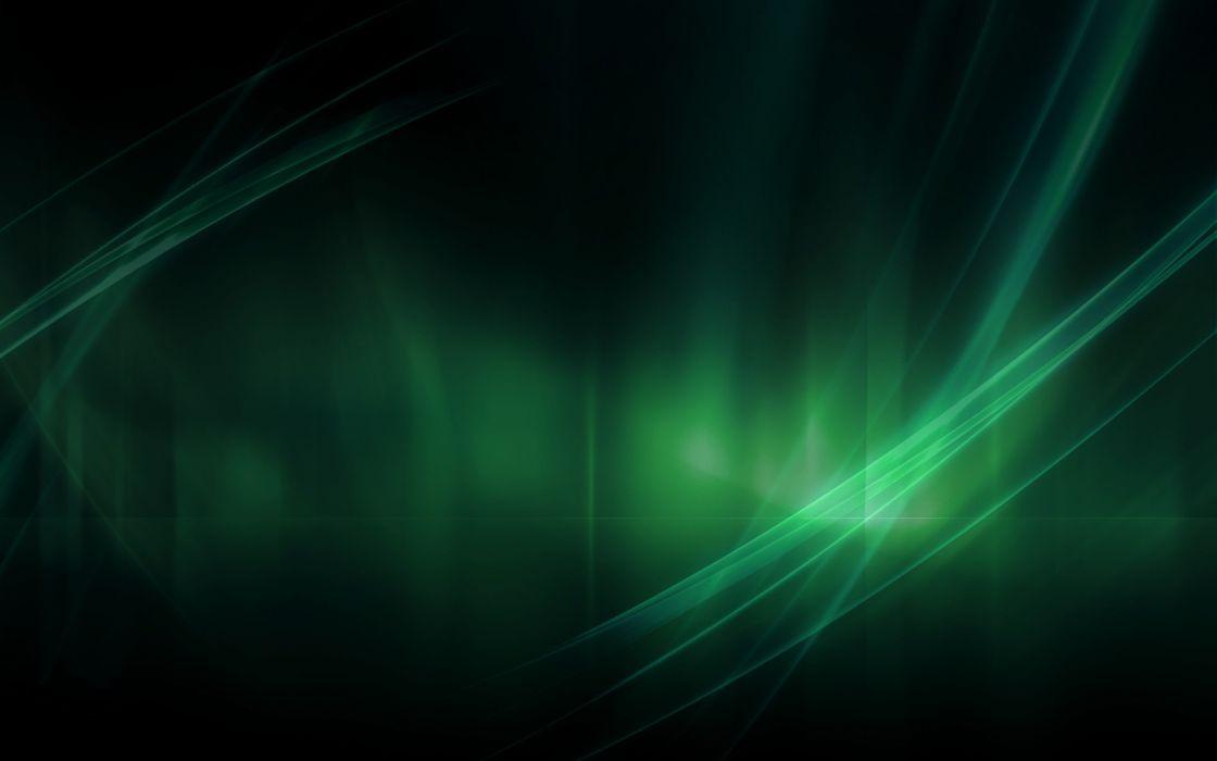 Green abstract nature wallpaper