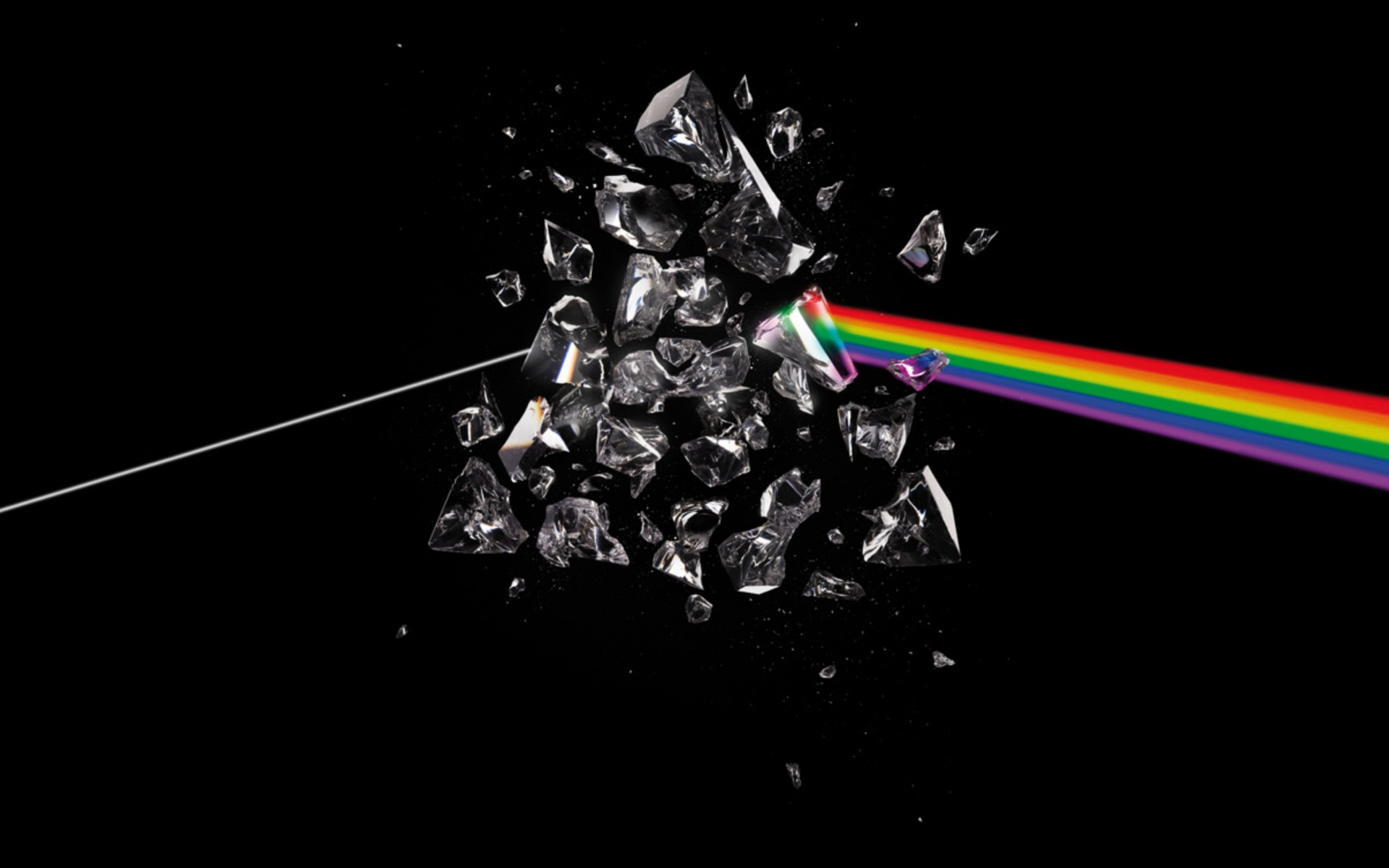 Pink Floyd Prism Rainbows Wallpaper 1920x1200 22918