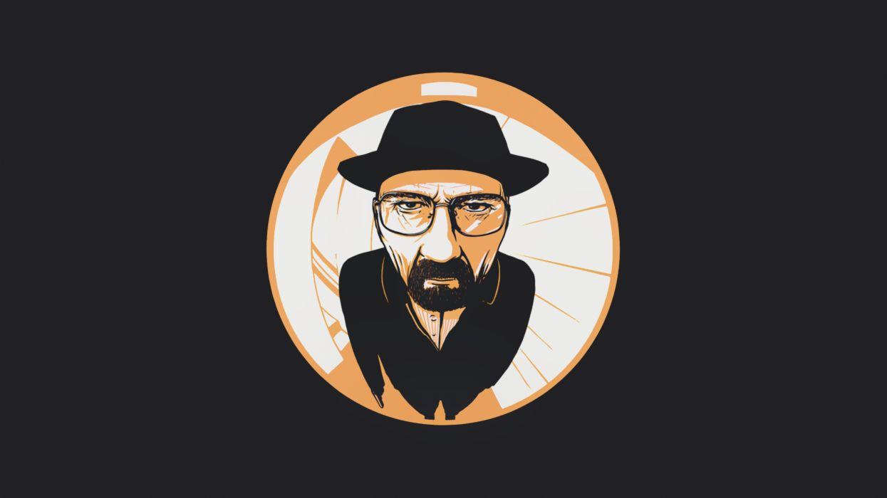 Tv dark men glasses breaking bad beard tv series bryan cranston hats walter white heisenberg wallpaper