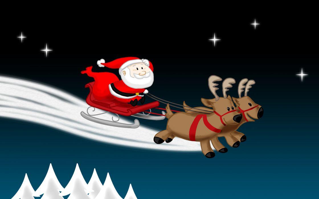 holidays christmas santa seasonal wallpaper