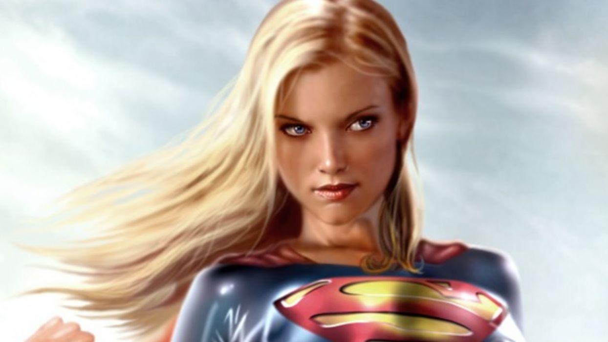 supergirl comic wallpaper