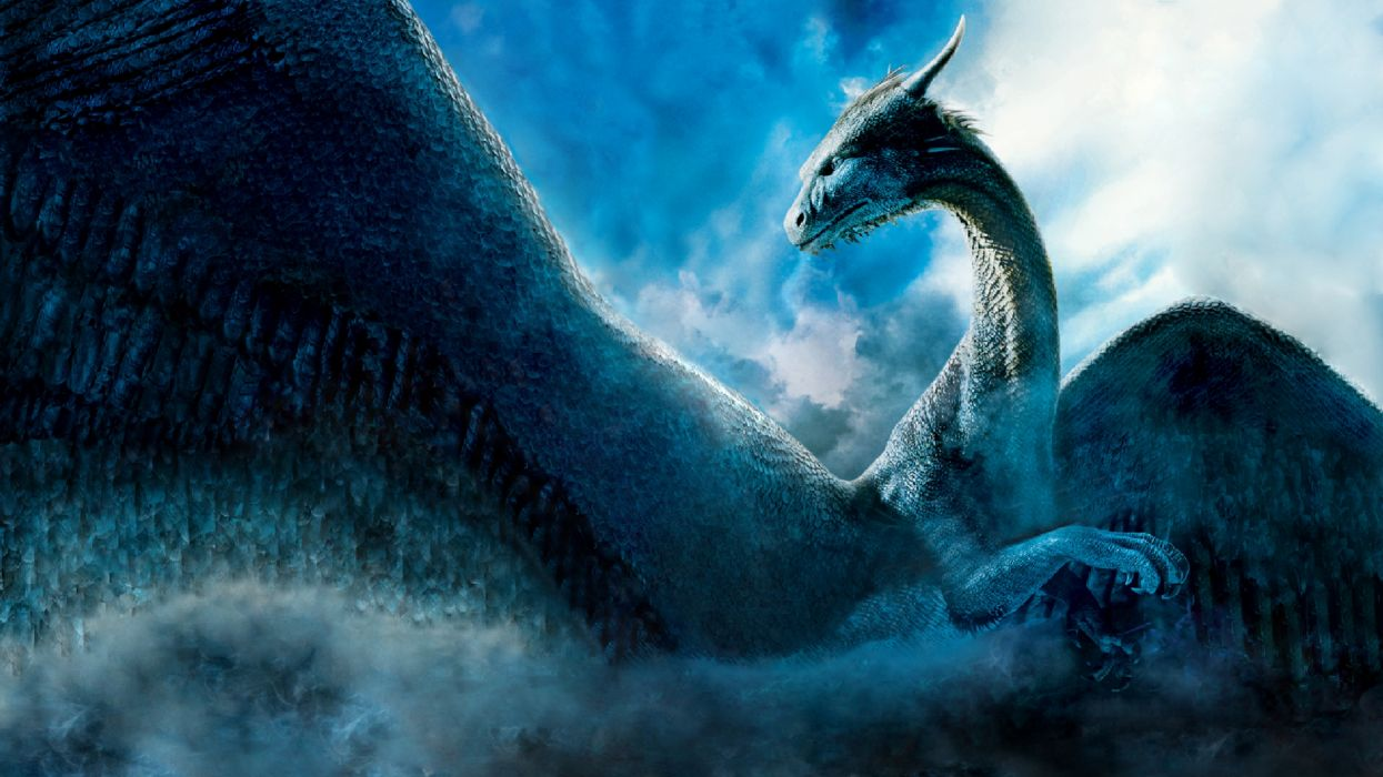 dragon fantasy creature wallpaper
