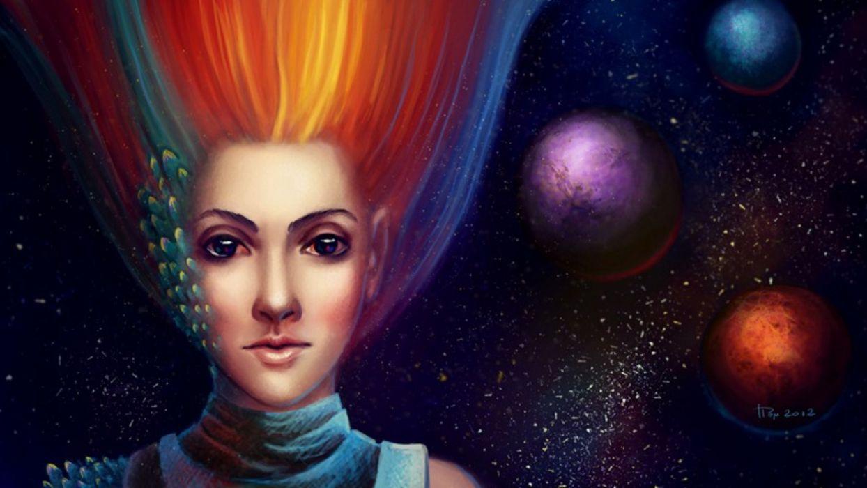 fantasy woman wallpaper