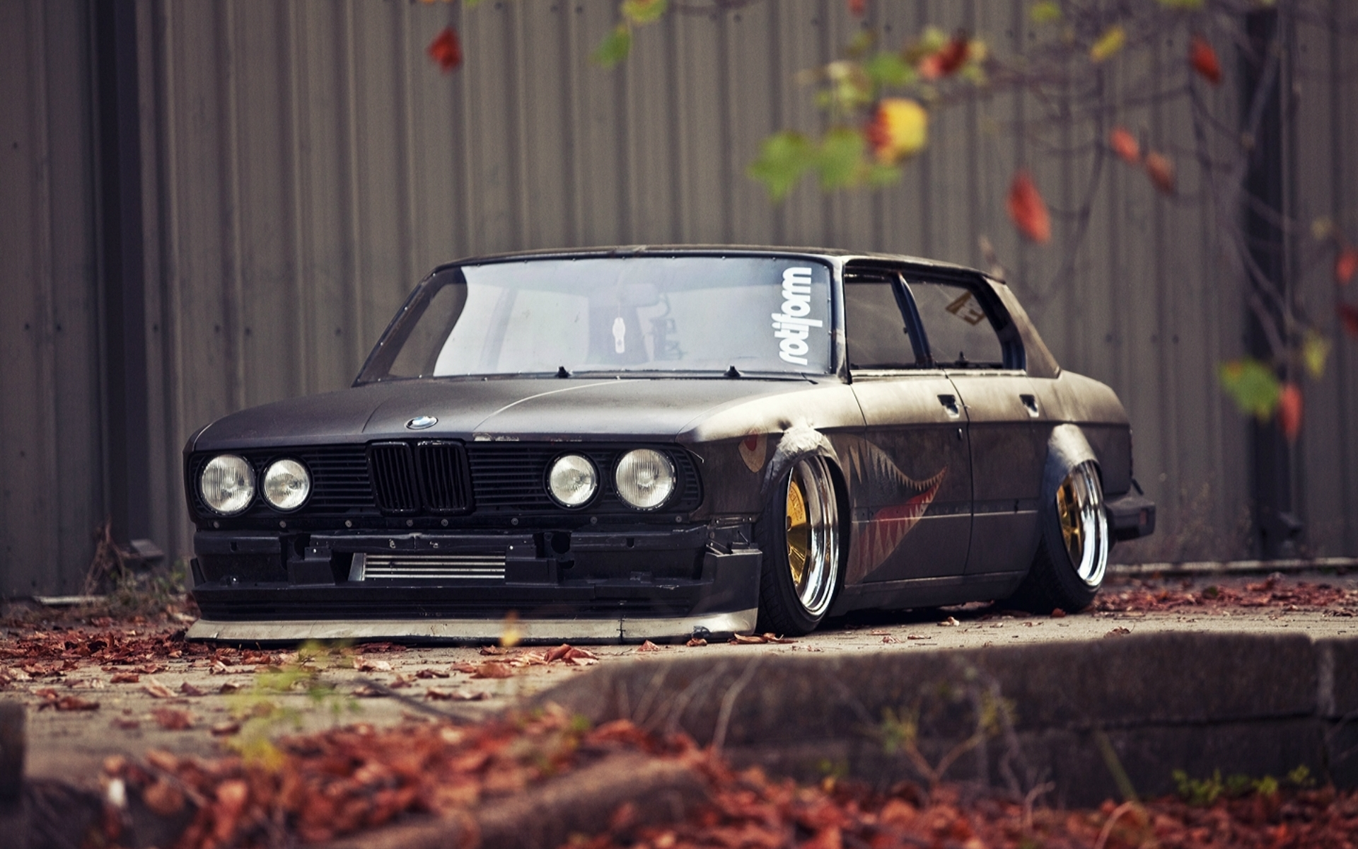 Bmw E38 740il Stance Tuning Boomer HD Wallpaper