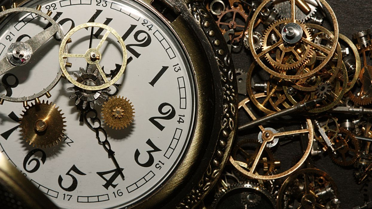 gears wheels watches detailed close-up faces numbers photography metal artistic wallpaper