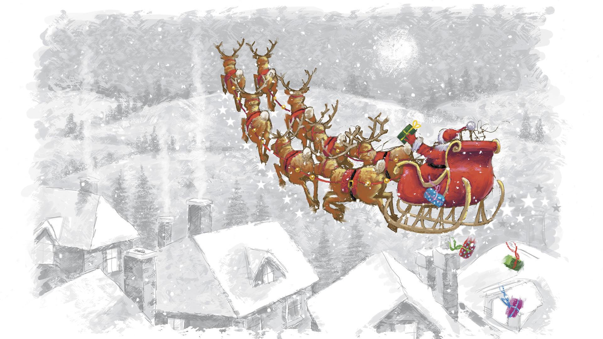 Holidays Christmas Seasonal Festive Hd Wallpaper 1467018