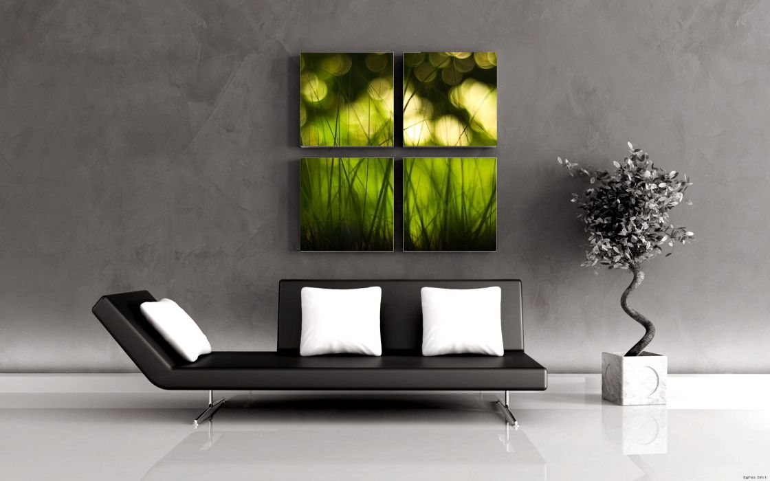 cg 3d digital-art interior interior-design furniture artistic rooms wallpaper