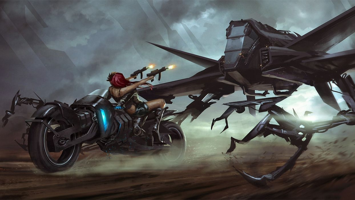 Bpsola deviantart com sci fi mech mecha rpbots battles anime paintings airbrushing war futuristic dark weapons guns