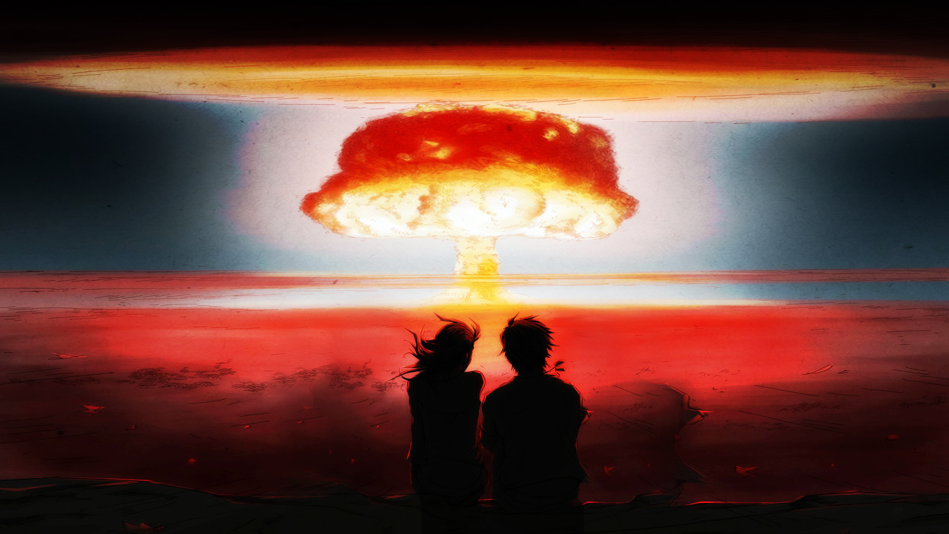 nuclear bomb explosion images
