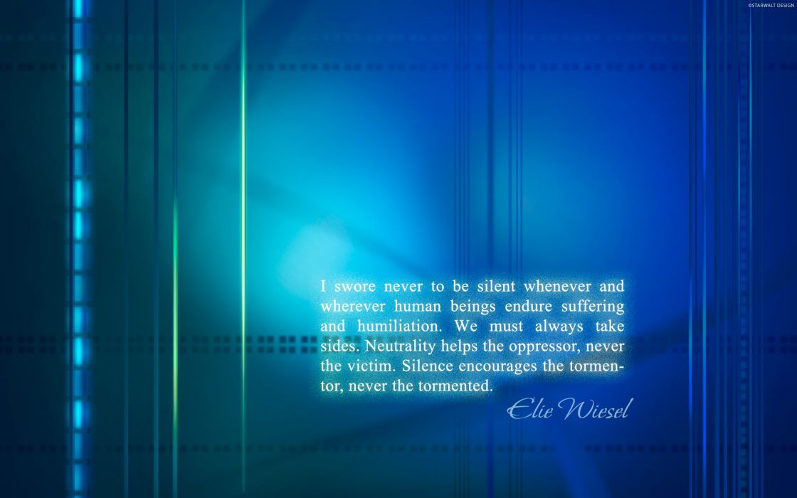 12 Swore never to be silent whenever and wherever human… wallpaper