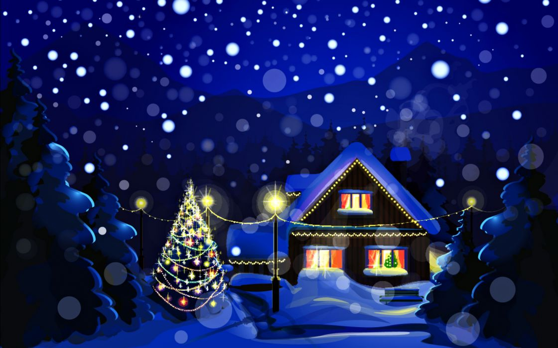 christmas holidays wallpaper